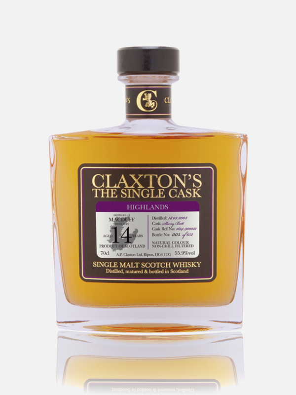 Macduff 14y 2003 - Single Malt Scotch Whisky (Claxton's - The Single Cask)