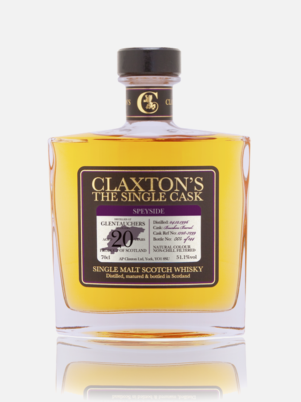Glentauchers 20y, 1996, Single Malt Scotch Whisky (Claxton's - The Single Cask)