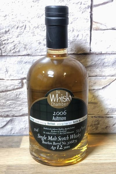 Aultmore 12y, 2006 The Whisky Chamber – Single Malt Scotch Whisky