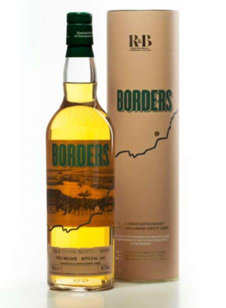 Borders - Highland Single Grain Scotch Whisky