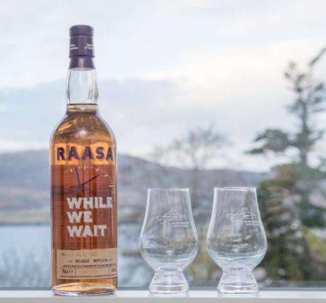 Raasay While We Wait - 3rd Edition - Highland Single Malt Scotch Whisky