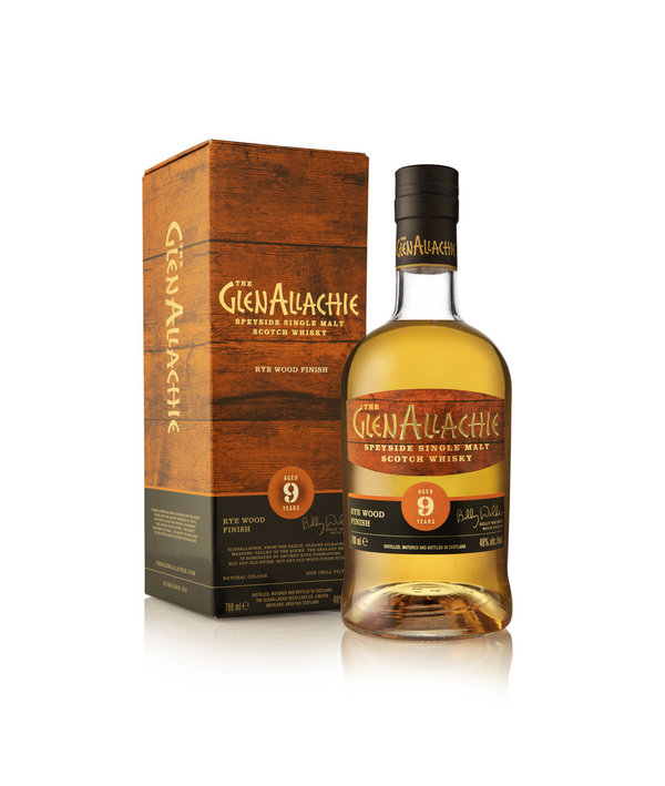 GlenAllachie 9y Rye Finish – Single Malt Scotch Whisky