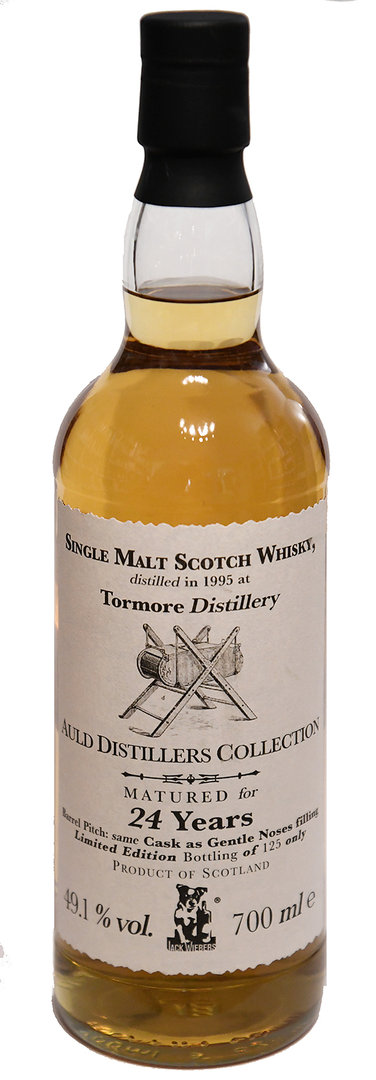 Tormore 24 Jahre, Auld Distillers Collection, 49,1% (Jack Wiebers)