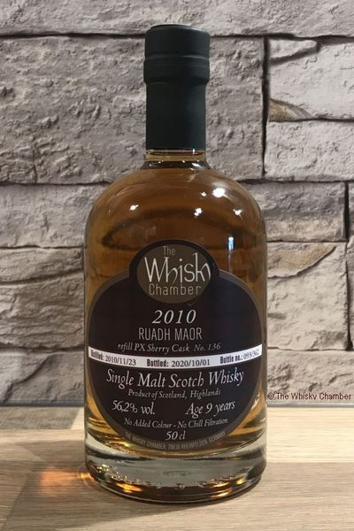 Ruadh Maor 2010 9y PX Sherrycask (The Whisky Chamber - Single Malt Scotch Whisky)