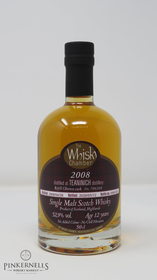 Teaninich 2008 12y Oloroso, The Whisky Chamber – Single Malt Scotch Whisky