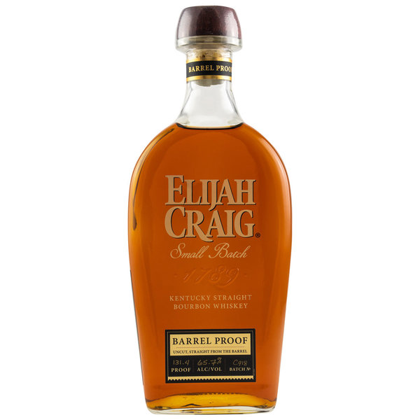 Elijah Craig Barrel Proof - American Bourbon Whiskey