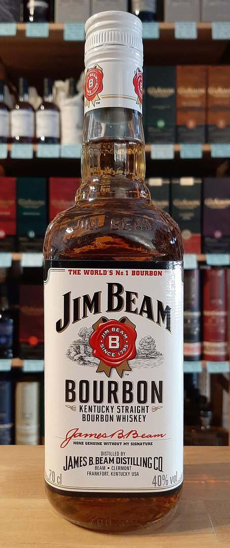 Jim Beam White - American Bourbon Whiskey