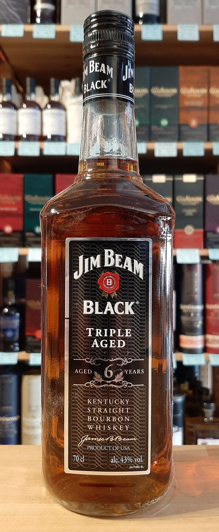 Jim Beam Black - American Bourbon Whiskey