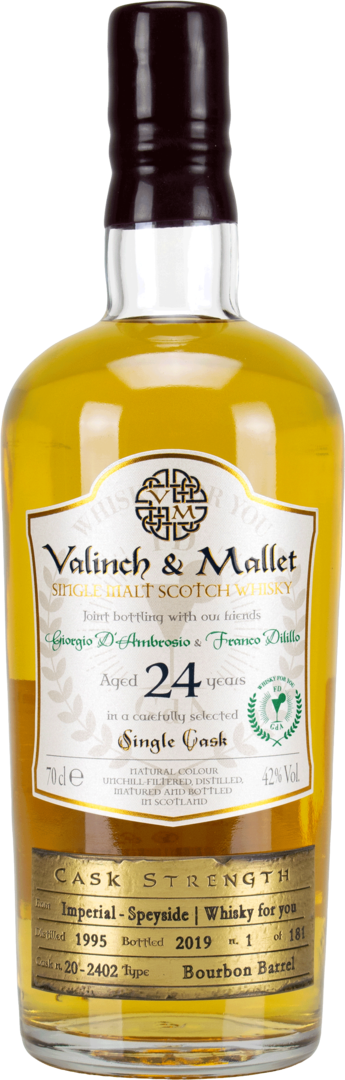 Imperial 24y - Valinch & Mallet - Single Malt Whisky